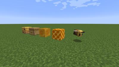 Minecraft méz blokkok